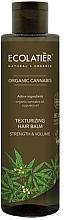 Düfte, Parfümerie und Kosmetik Texturierender Haarbalsam für mehr Volumen mit Cannabisöl - Ecolatier Organic Cannabis Texturizing Hair Balm