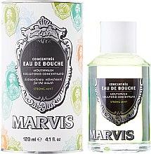 Düfte, Parfümerie und Kosmetik Mundwasser - Marvis Concentrate Strong Mint Mouthwash