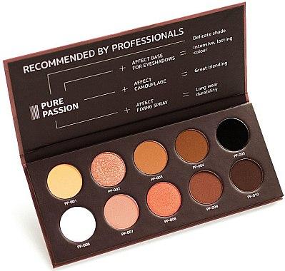 Gepresste Lidschatten in Palette - Affect Cosmetics Pure Passion Eyeshadow Palette