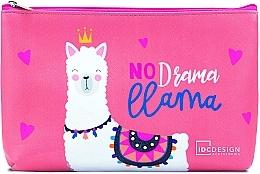 Düfte, Parfümerie und Kosmetik Kosmetiktasche mit Aufdruck, Pink - IDC Design Accessories Cosmetig Bag
