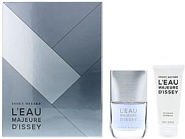 Düfte, Parfümerie und Kosmetik Issey Miyake L'Eau Majeure D'Issey - Duftset (Eau de Toilette/50ml + Duschgel/100ml)