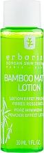 Düfte, Parfümerie und Kosmetik Porenminimierende und mattierende Reinigungslotion für das Gesicht mit Bambusextrakt - Erborian Cleansing Lotion