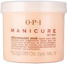 Düfte, Parfümerie und Kosmetik Händeeinweichmittel mit Mineralien und Aufhellern - O.P.I. Manicure Effervescent Soak