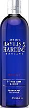 Düfte, Parfümerie und Kosmetik Duschgel Limette & Minze - Baylis & Harding Men's Citrus Lime & Mint Shower Gel
