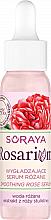 Düfte, Parfümerie und Kosmetik Glättendes Gesichtsserum mit Rosenwasser und Rosenextrakt - Soraya Rosarium A Smoothing Rose Serum