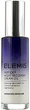 Düfte, Parfümerie und Kosmetik Regenerierendes und feuchtigkeitsspendendes Creme-Öl für die Nacht - Elemis Peptide4 Night Recovery Cream-Oil