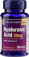 Düfte, Parfümerie und Kosmetik Nahrungsergänzungsmittel Hyaluronsäure 20 mg mit Vitamin C für gesunde Haut - Holland & Barrett Hyaluronic Acid With Vitamin C