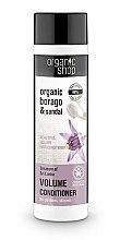 Düfte, Parfümerie und Kosmetik Haarspülung für mehr Haarvolumen, Glanz und Sanftheit - Organic Shop Organic Sandal and Indian Nut Volume Conditioner