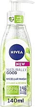 Düfte, Parfümerie und Kosmetik Mizellen-Waschgel für das Gesicht mit Aloe Vera - Nivea Naturally Good Micellar Wash
