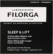 Düfte, Parfümerie und Kosmetik Straffende Nachtcreme mit Liftingeffekt - Filorga Sleep & Lift Ultra-lifting Night Cream