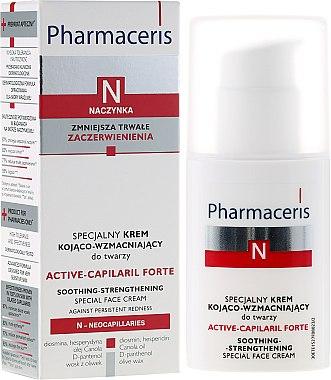 Spezielle beruhigende und straffende Gesichtscreme - Pharmaceris N Active-Capilaril Forte Cream