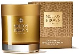 Düfte, Parfümerie und Kosmetik Molton Brown Mesmerising Oudh Accord & Gold Single Wick Candle - Duftkerze