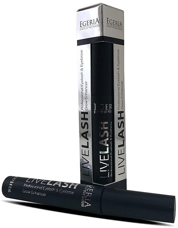 Pflegendes Augenbrauen- und Wimpernserum - Egeria Livelash Eyelash & Eyebrow Grow Enhancer