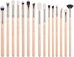 Düfte, Parfümerie und Kosmetik Make-up Pinselset T447 15 St. - Jessup