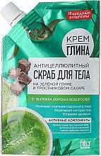 Düfte, Parfümerie und Kosmetik Anti-Cellulite Körperpeeling mit grünem Ton und Rohrzucker - Fito Kosmetik Volksrezepte