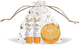 Düfte, Parfümerie und Kosmetik Gesichtspflegeset - Institut Karite Almond Honey (Butter mit Mandel- und Honigduft 10ml + Lippenstift 2x4g)
