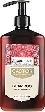 Düfte, Parfümerie und Kosmetik Feuchtigkeitsspendendes Shampoo mit Rizinusöl - Arganicare Castor Oil Shampoo
