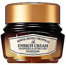 Düfte, Parfümerie und Kosmetik Feuchtigkeitsspendende Gesichtscreme mit Honig - Skinfood Royal Honey Propolis Enrich Cream