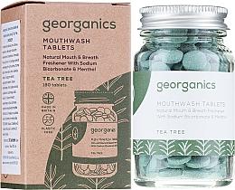 Düfte, Parfümerie und Kosmetik Zahnreinigungstabletten-Tee Baum - Georganics Natural Mouthwash Tablets Tea Tree