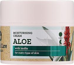 Düfte, Parfümerie und Kosmetik Feuchtigkeitsspendende Gesichtscreme mit Aloe und Inulin für alle Hauttypen - Farmona Herbal Care My Nature Moisturizing Cream