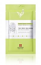 Düfte, Parfümerie und Kosmetik Entspannende Tuchmaske für das Gesicht - Leaders Tea Tree Relaxing Skin Renewal Mask