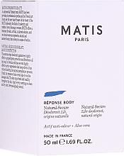 Düfte, Parfümerie und Kosmetik Deo Roll-on - Matis Reponse Body Deodorant