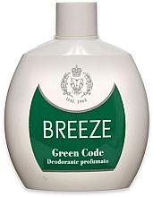 Düfte, Parfümerie und Kosmetik Breeze Green Code Deo Squeeze - Parfümiertes Deospray