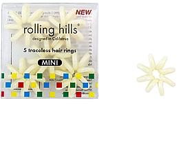 Düfte, Parfümerie und Kosmetik Haargummis beige - Rolling Hills Traceless Hair Rings Mini Beige