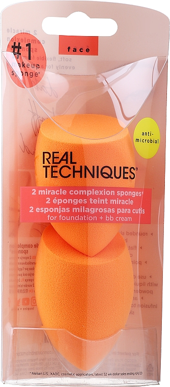 Make-up Schwamm 2 St. - Real Techniques Miracle Complexion Sponge
