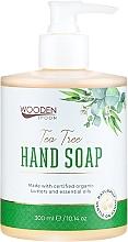 Düfte, Parfümerie und Kosmetik Flüssige Handseife mit Teebaum - Wooden Spoon Tea Tree Hand Soap