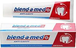 Düfte, Parfümerie und Kosmetik Zahnpasta Anti-Cavity Original - Blend-a-med Anti-Cavity Original Toothpaste