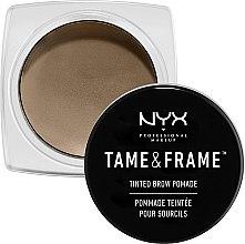 Düfte, Parfümerie und Kosmetik Augenbrauenpomade - NYX Professional Makeup Tame & Frame Brow Pomade
