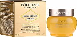 Düfte, Parfümerie und Kosmetik Leichte Anti-Falten Tagescreme mit ätherischen Ölen SPF 20 - L'Occitane Immortelle Divine Cream SPF 20 Advanced Youth Care