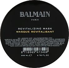 Düfte, Parfümerie und Kosmetik Revitalisierende Haarmaske für geschädigtes Haar - Balmain Paris Hair Couture Revitalizing Mask
