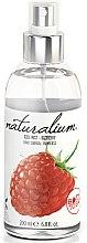 Düfte, Parfümerie und Kosmetik Pafrümiertes Körperspray mit Himbeerduft - Naturalium Body Mist Raspberry