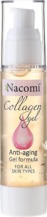 Anti-Aging Gesichtsgel mit Kollagen - Nacomi Collagen Gel Anti-aging