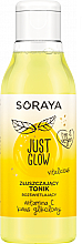 Düfte, Parfümerie und Kosmetik Aufhellendes Gesichtstonikum mit Vitamin C und Glykolsäure - Soraya Just Glow