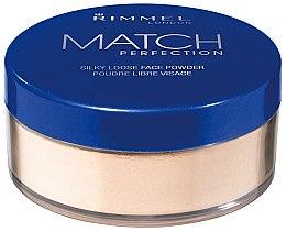 Düfte, Parfümerie und Kosmetik Loser Seidenpuder - Rimmel Match Perfection Silky Loose Powder
