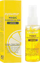Düfte, Parfümerie und Kosmetik Gesichtsreinigungsgel in Sprayform mit Zitrone - Ayoume Magic Cleansing Gel Mist Lemon