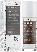 Düfte, Parfümerie und Kosmetik Deospray Antitranspirant - Korres 48h Deodorant