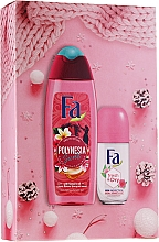 Düfte, Parfümerie und Kosmetik Körperpflegeset - Fa Polinesia Secrets (Duschgel 250ml + Deo Roll-on 50ml)