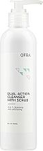 Düfte, Parfümerie und Kosmetik 2in1 Gesichtsreiniger und -peeling - Ofra Dual Action Cleanser with Scrub