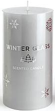 Düfte, Parfümerie und Kosmetik Duftkerze grau 7x8cm - Artman Winter Glass