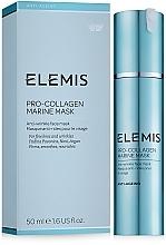 Düfte, Parfümerie und Kosmetik Pflegende, straffende und glättende Anti-Falten Gesichtsmaske mit Lifting-Effekt - Elemis Pro-Collagen Marine Mask
