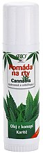 Düfte, Parfümerie und Kosmetik Lippenbalsam mit Hanföl und Sheabutter - Bione Cosmetics Cannabis Lip Balm with Shea Butter