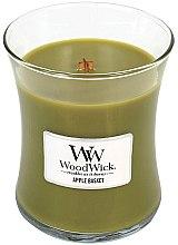 Düfte, Parfümerie und Kosmetik Duftkerze im Glas Apple Basket - WoodWick Hourglass Candle Apple Basket