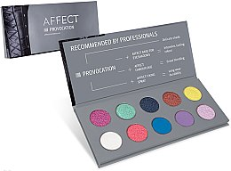 Düfte, Parfümerie und Kosmetik Gepresste Lidschatten in Palette - Affect Cosmetics Provocation Eyeshadow Palette