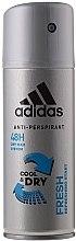 Düfte, Parfümerie und Kosmetik Deospray Antitranspirant - Adidas Anti-Perspirant Fresh Cool & Dry 48H