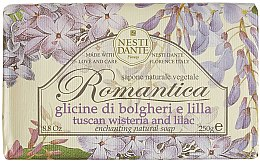 "Düfte, Parfümerie und Kosmetik Seife ""Glyzinien und Flieder"" - Nesti Dante Romantica Tuscan Wisteria&Lilac Soap"