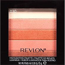 Düfte, Parfümerie und Kosmetik Highlighter-Palette - Revlon Highlighting Palette